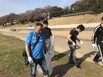【岡山さくらカーニバル】清掃活動